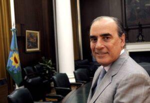 Guillermo Francos, presidente del Banco Provincia