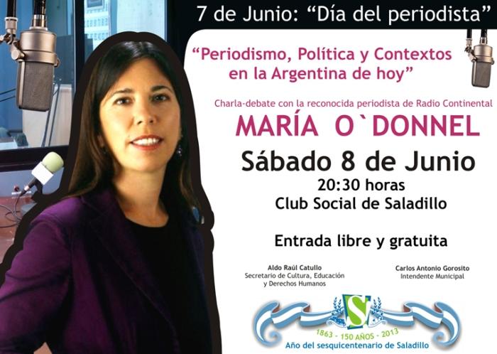 130604 Maria O Ddonnel en Saladillo