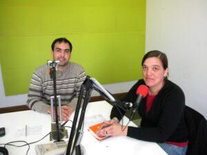 130805 Gustavo Di Battista y Elena Armendariz