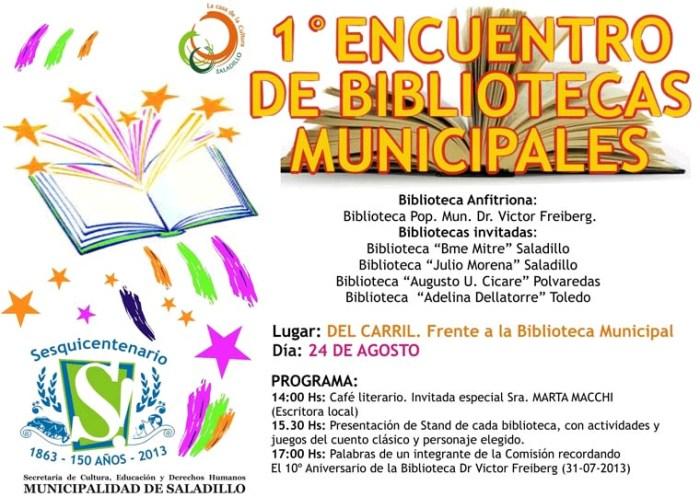 130822 Primer encuentro de bibliotecas