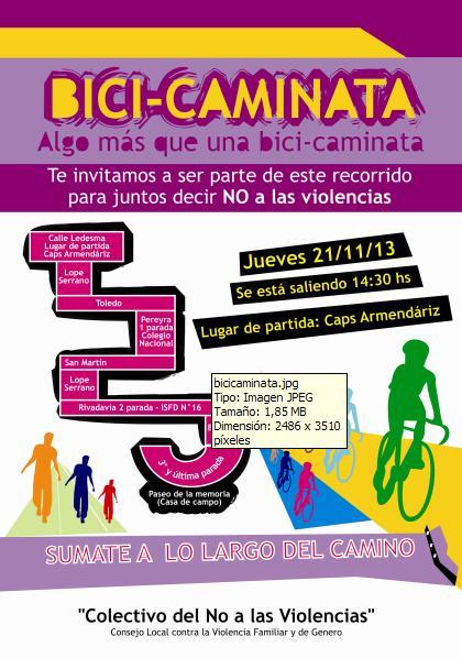 131120 Bici Caminata