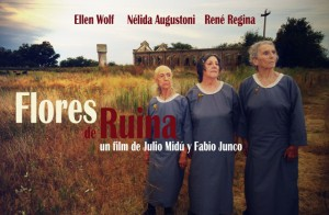 FUNDA Afiche FLORES DE RUINA