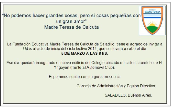 140226 Invitacion Madre