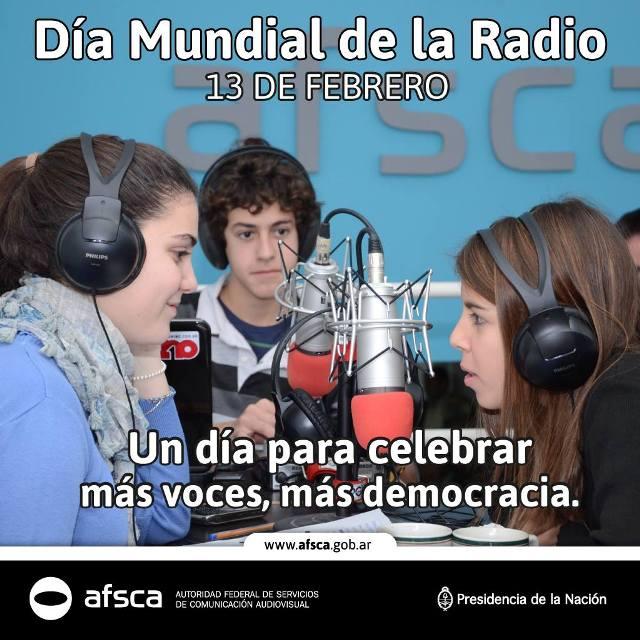 DIA MUNDIAL DE LA RADIO - Flyer