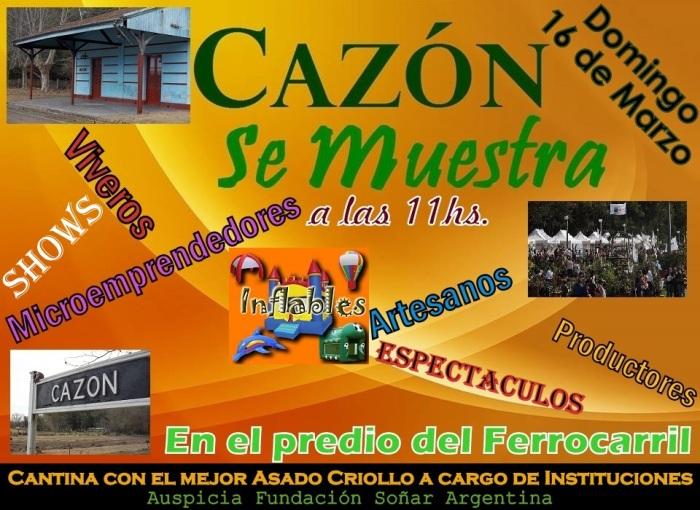 140301 Cazon se muestra