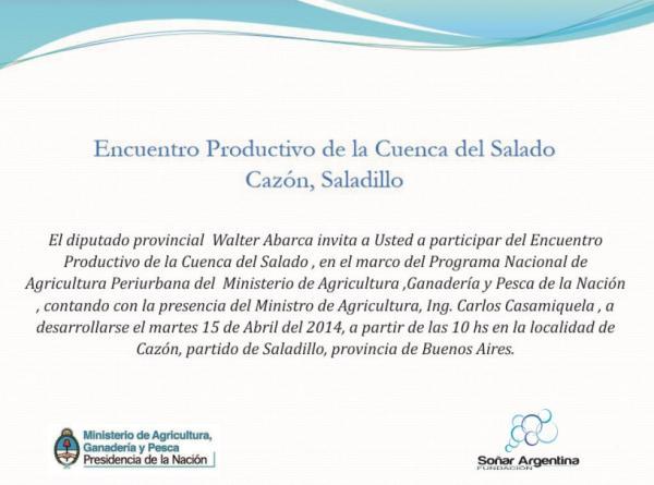 140410 Encuentro productivo Cazon  1