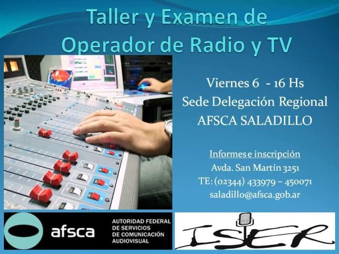 140603 Operador radio y tv