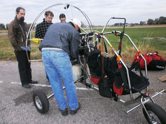 140617 Paramotor