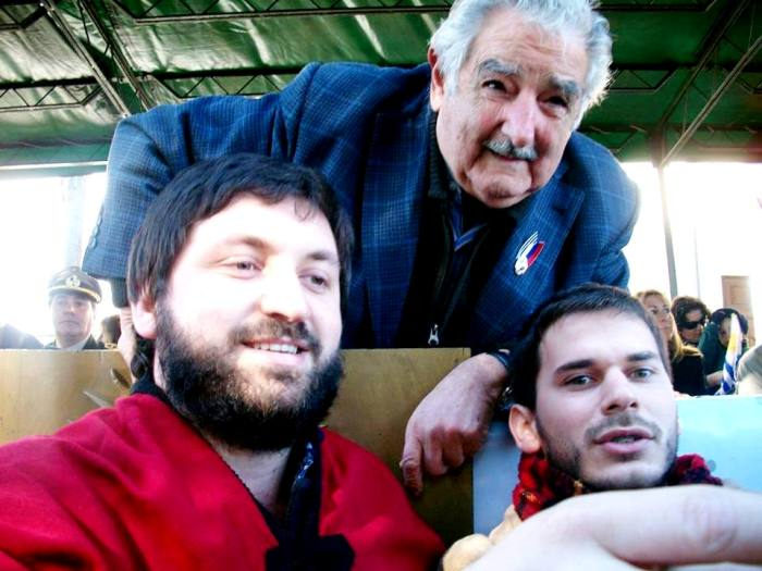 140623 Cisneros con Pepe Mujica
