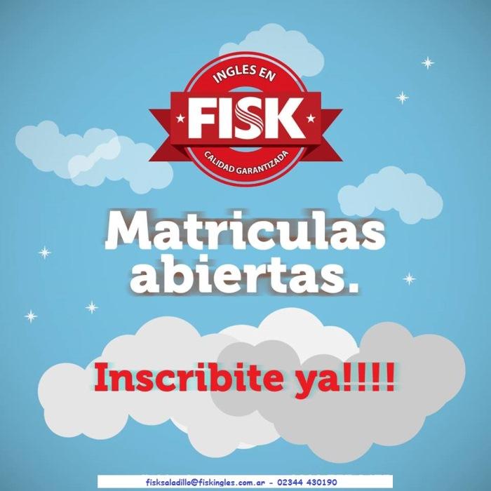 150712 Fisk Matriculas