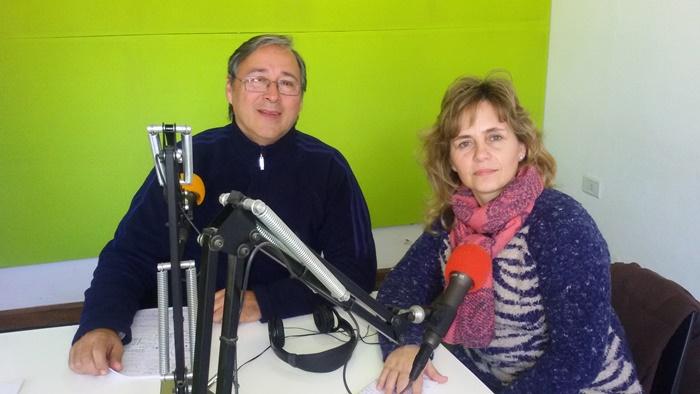 Jorge Lenzi y Fernanda Catullo