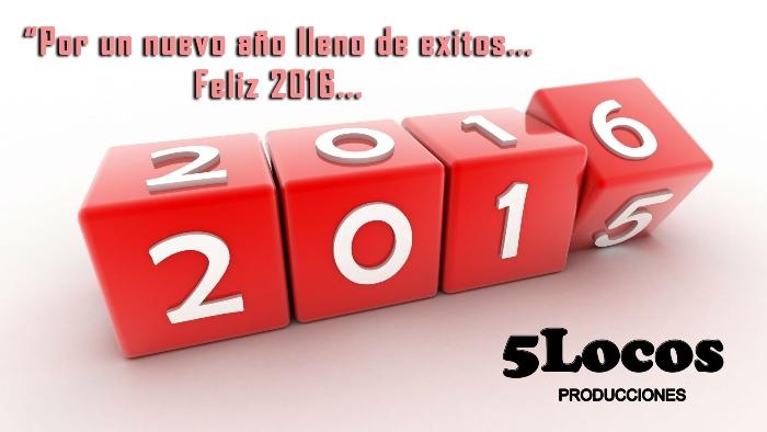 151231 Saludo 5 Locos