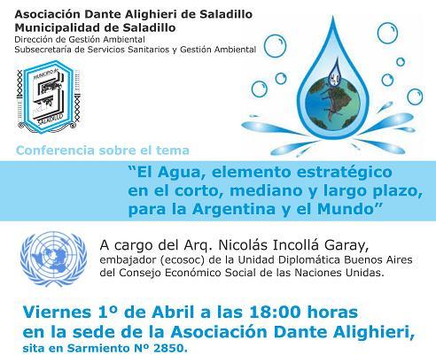conferencia agua