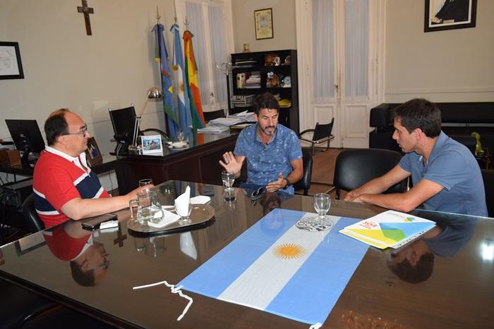 180201 Con el Subsecretario de deportes de la provincia Pablo Fuentes